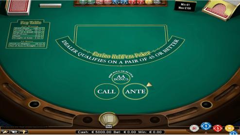 Hold'em Poker screenshot1