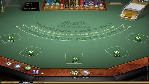 Classic Blackjack sceenshot1