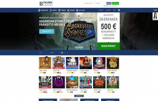 Finlandia CasinoHomepage