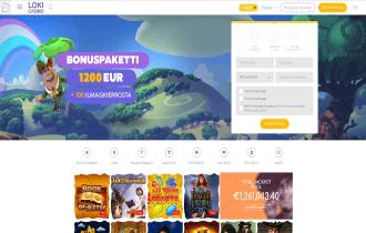 Loki Casino Homepage