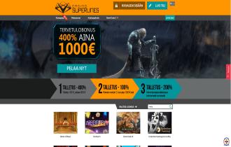 Casino Superlines Homepage