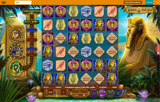 Casino Superlines Legend of the Nile Slot Game