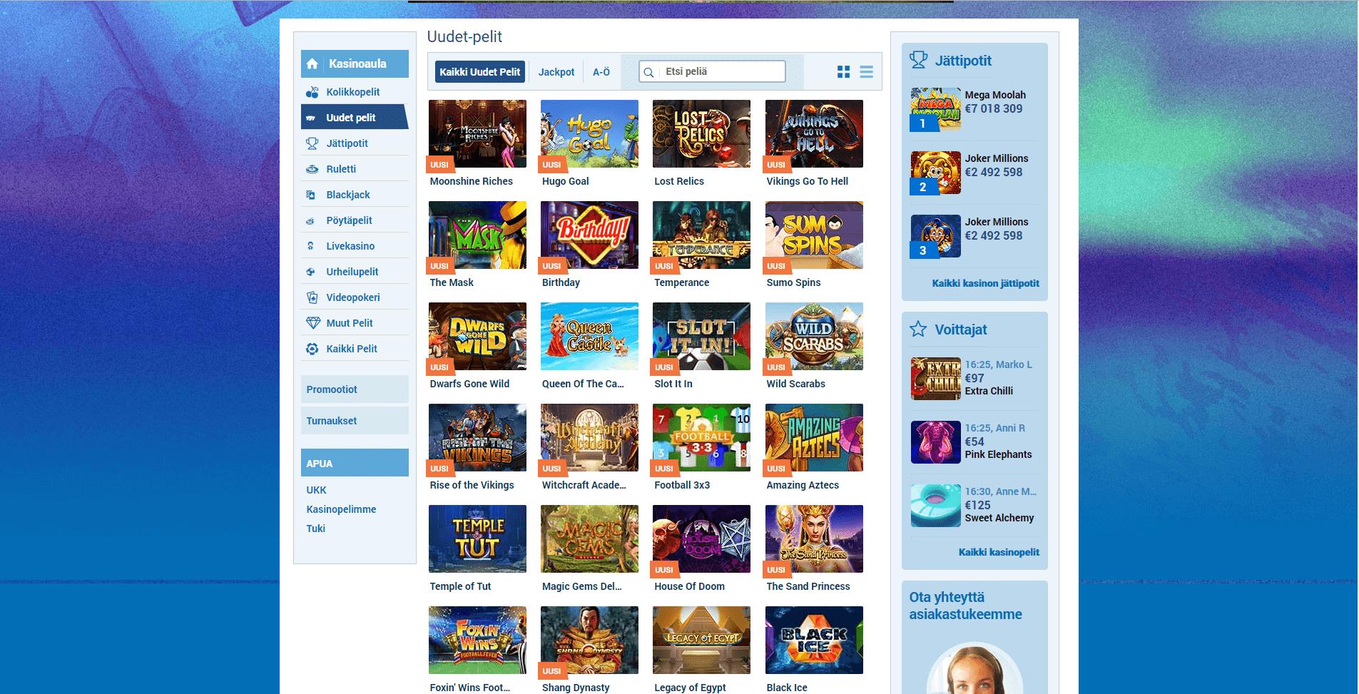 NordicSlots Games