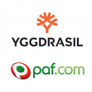 Paf ja Yggdrasil Gaming yhdistävät voimansa