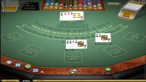 Classic Blackjack sceenshot2