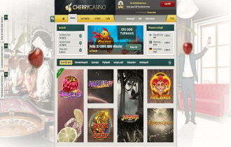 Cherry Casino Homepage