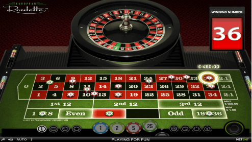Classic Roulette screenshot2