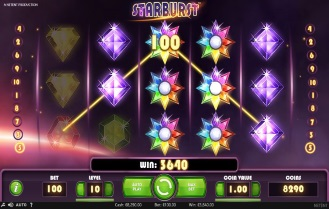 Wildz Casino Screeshot Starburst